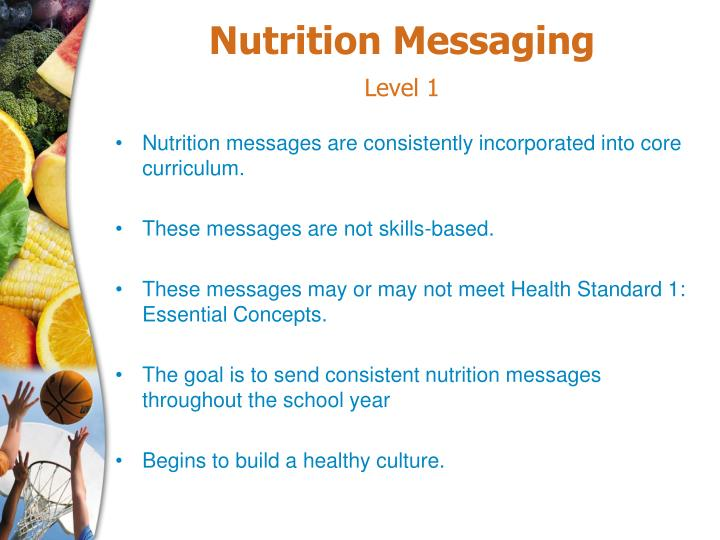 Nutrition Messaging
