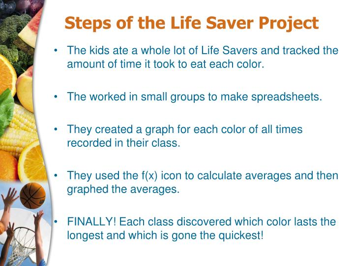 Steps of the Life Saver Project