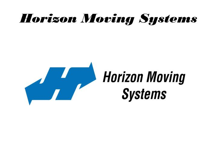 horizon moving systems n.