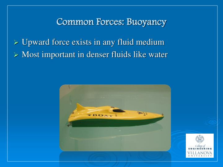 Common Forces: Buoyancy