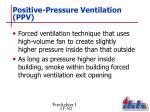 positive pressure ventilation ppv
