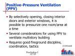 positive pressure ventilation ppv3