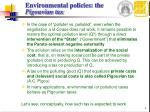 environmental policies the pigouvian tax