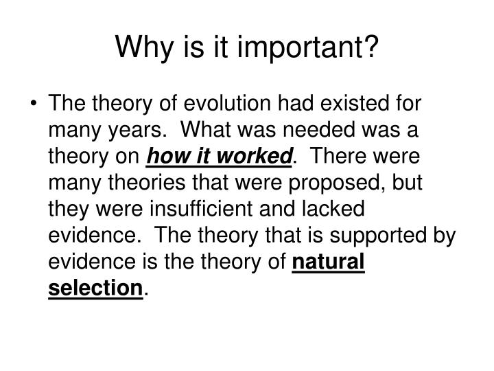 Why Is It Important To Have Variations In Natural Selection