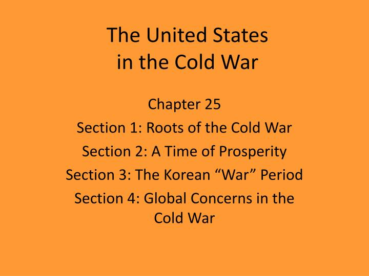 the united states in the cold war n.