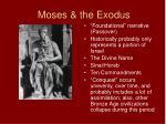 moses the exodus