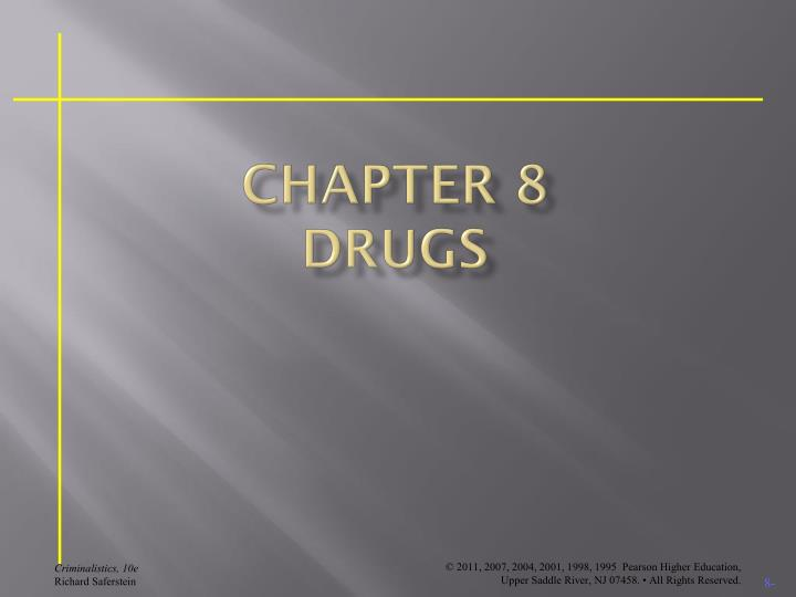 chapter 8 drugs n.