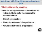 american s with disabilities amendments act 20081