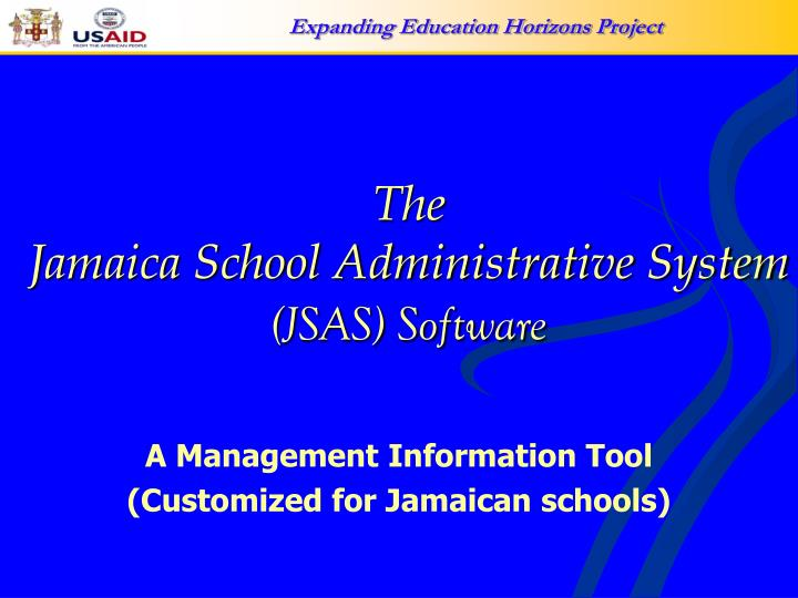 the jamaica school administrative system jsas software n.