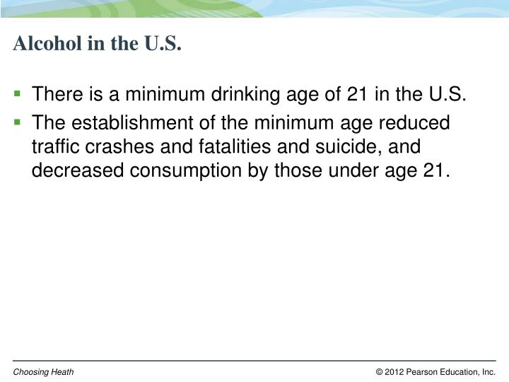 Alcohol in the U.S.