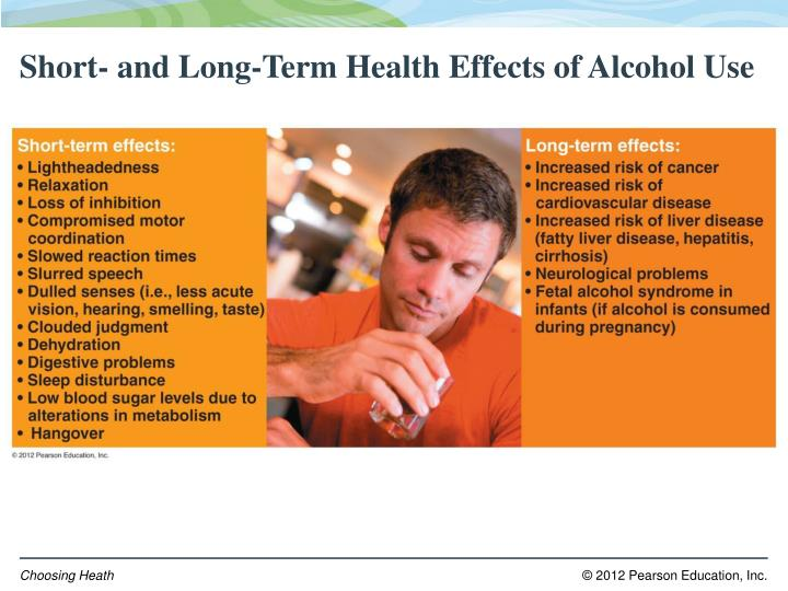 Short- and Long-Term Health Effects of Alcohol Use
