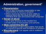administration government 11