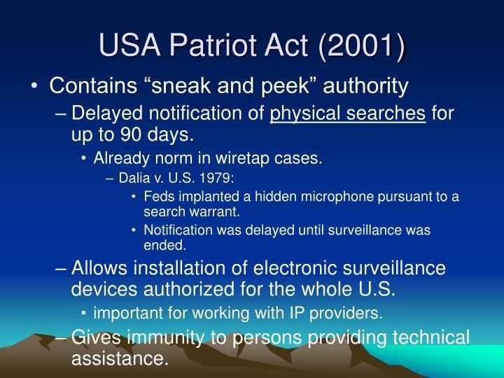 USA Patriot Act (2001)