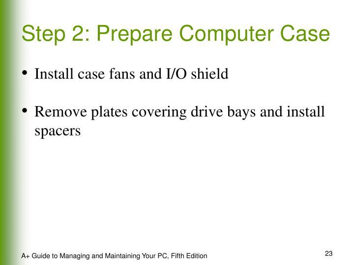 Step 2: Prepare Computer Case