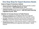 one stop shop for export business needs