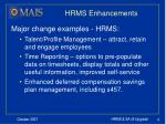 hrms enhancements