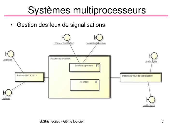 Systèmes multiprocesseurs