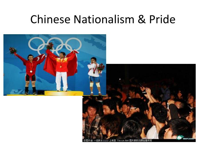 Chinese Nationalism & Pride