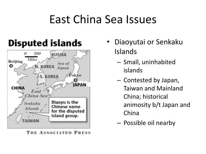 East China Sea Issues