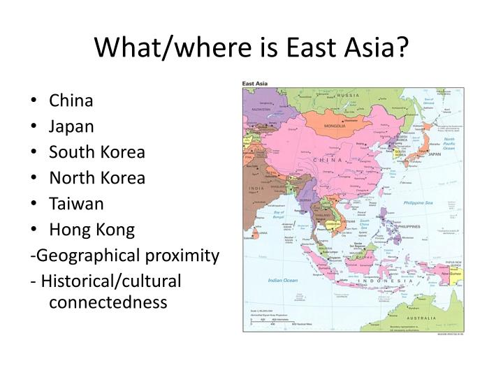 What where is east asia