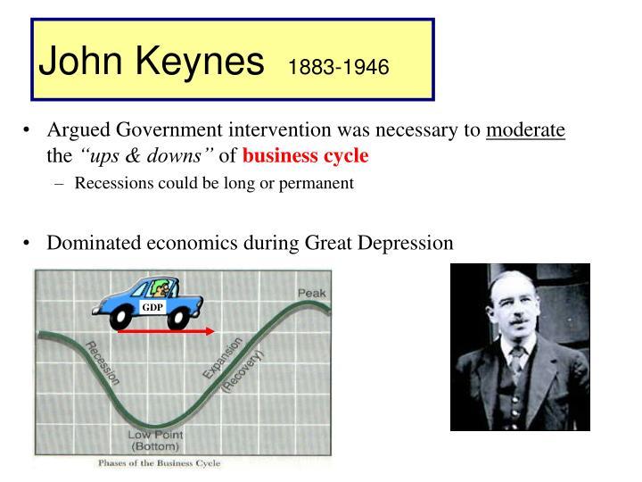 John keynes 1883 1946