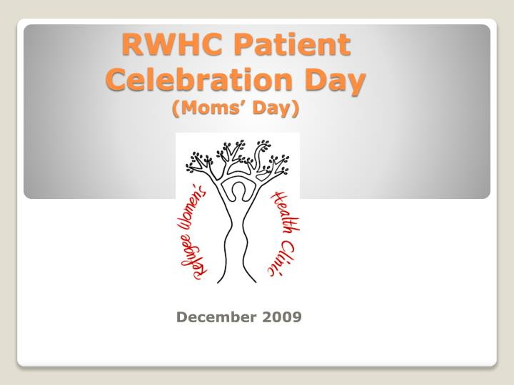 rwhc patient celebration day moms day n.