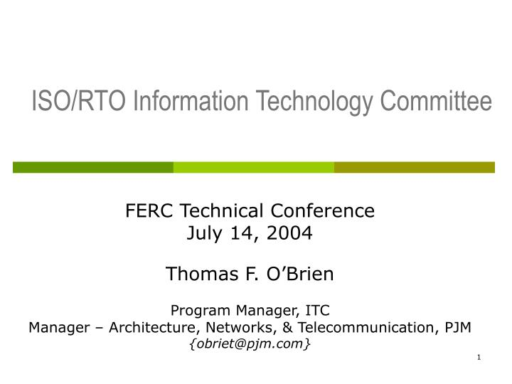 iso rto information technology committee n.