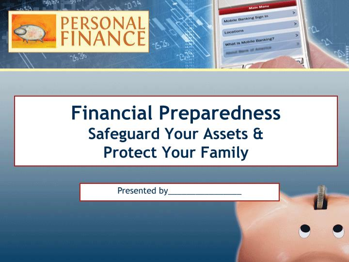 financial preparedness safeguard your assets protect your family n.