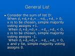 general list1