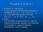property 3 of rule f