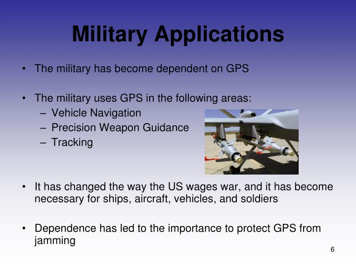 Military Applications