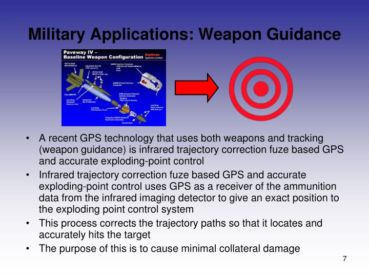 Military Applications: Weapon Guidance