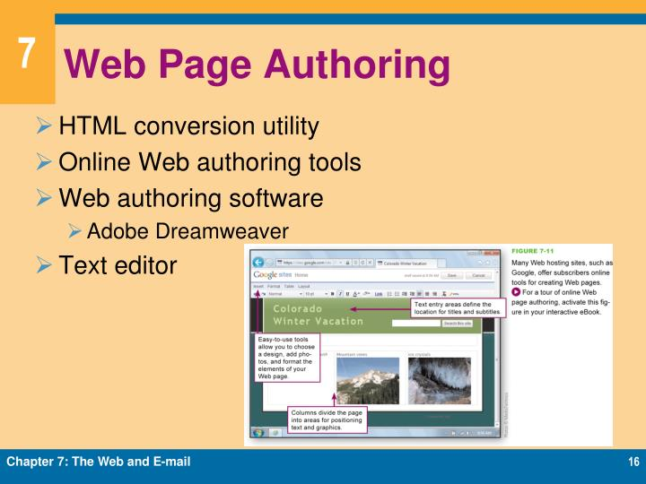 Web Page Authoring