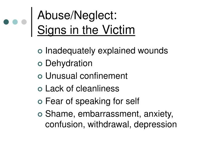 the victims of elder abuse essay Most victims of abuse are women, but some are men likely targets are older people who have no family or friends nearby and people with disabilities sometimes, the victim thinks the abuse is his or her fault protective services agencies can suggest support groups and counseling that can help the.