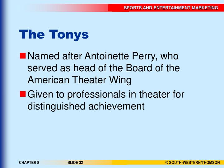 The Tonys