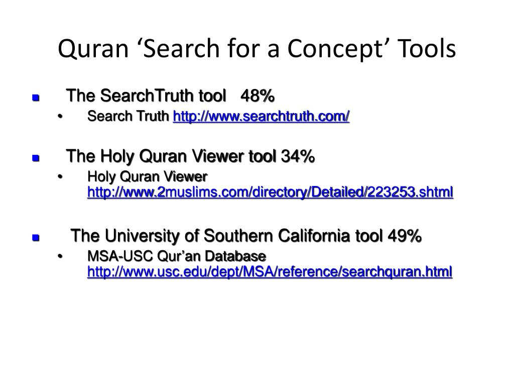 PPT - Corpus Linguistics for Understanding the Quran PowerPoint