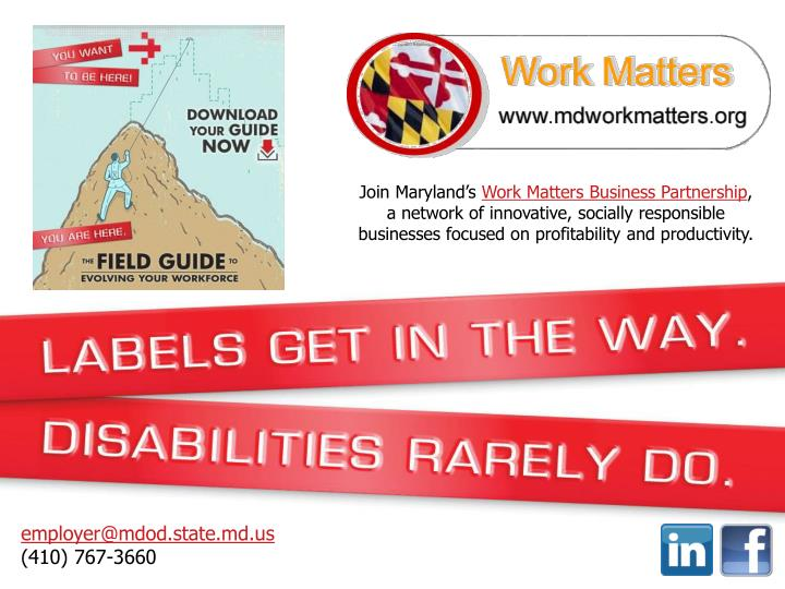 Join Maryland's