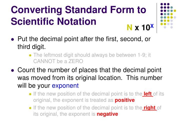 Ppt Scientific Notation Powerpoint Presentation Id1757871
