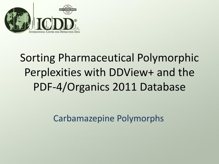 carbamazepine polymorphs n.