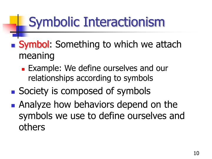 Symbolic Interactionist Definition Image Collections Meaning Of