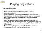 playing regulations7
