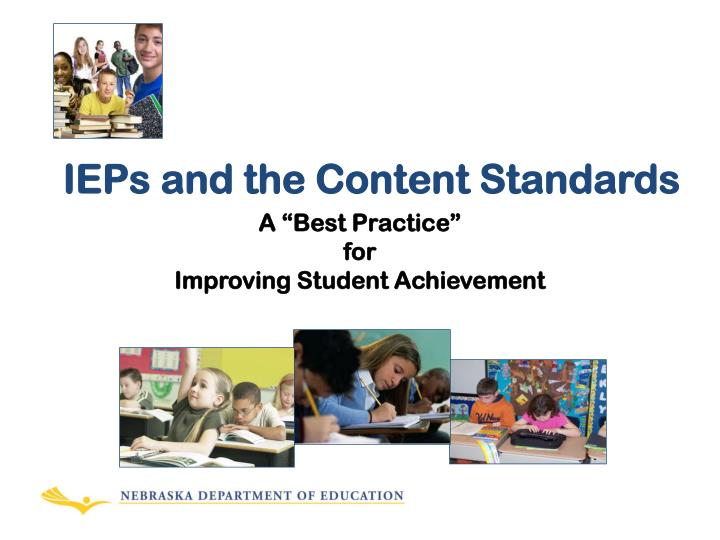 ieps and the content standards n.