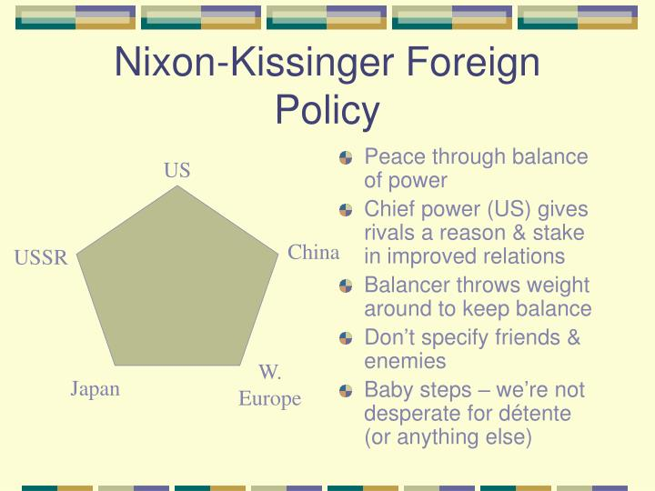 Nixon-Kissinger Foreign Policy