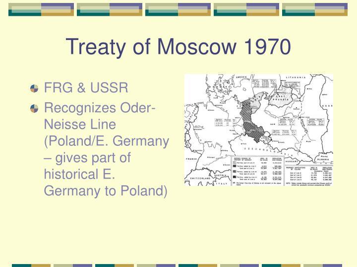 Treaty of Moscow 1970