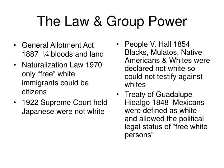 General Allotment Act 1887  ¼ bloods and land