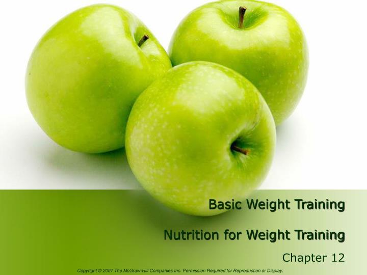 Basic Weight Training