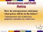 entrepreneurs and profit making1