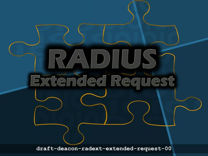 radius extended request n.