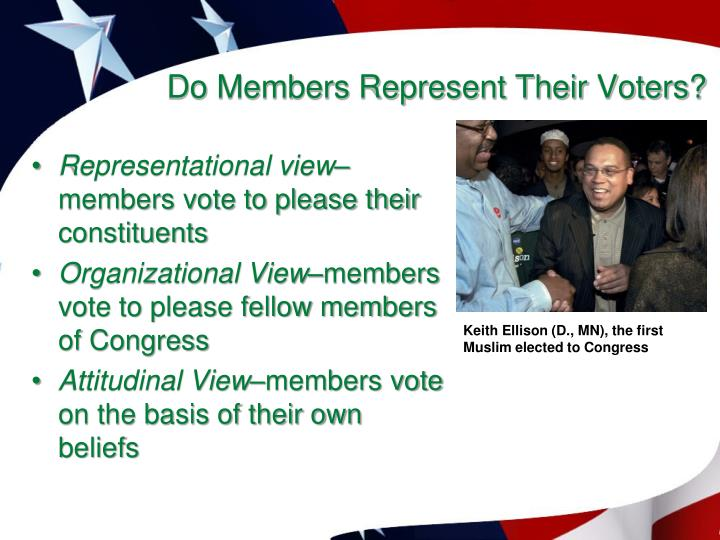 Do Members Represent Their Voters?