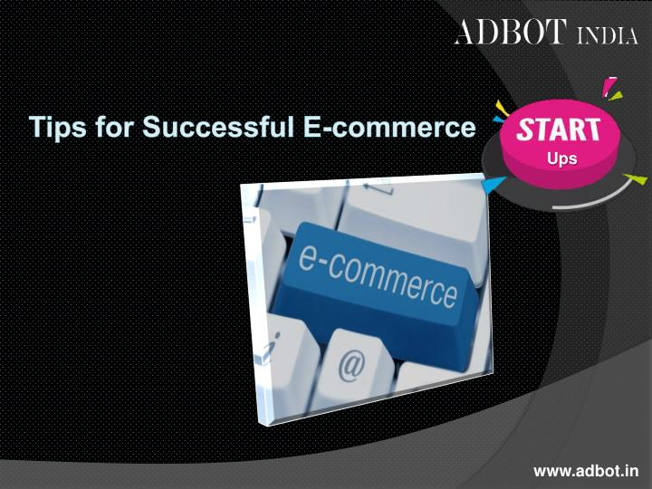 tips for successful e commerce n.